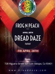 Frog N peach Reggae Fridays